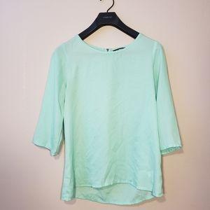 Express Mint green blouse
